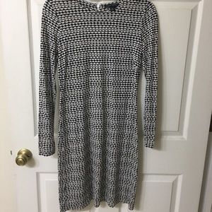 Banana Republic fitted knee length dress